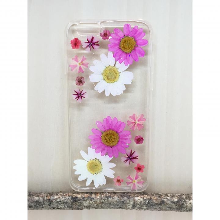 押し花スマホケース Floral Happiness 221 iPhone 6s Plus/6 Plus