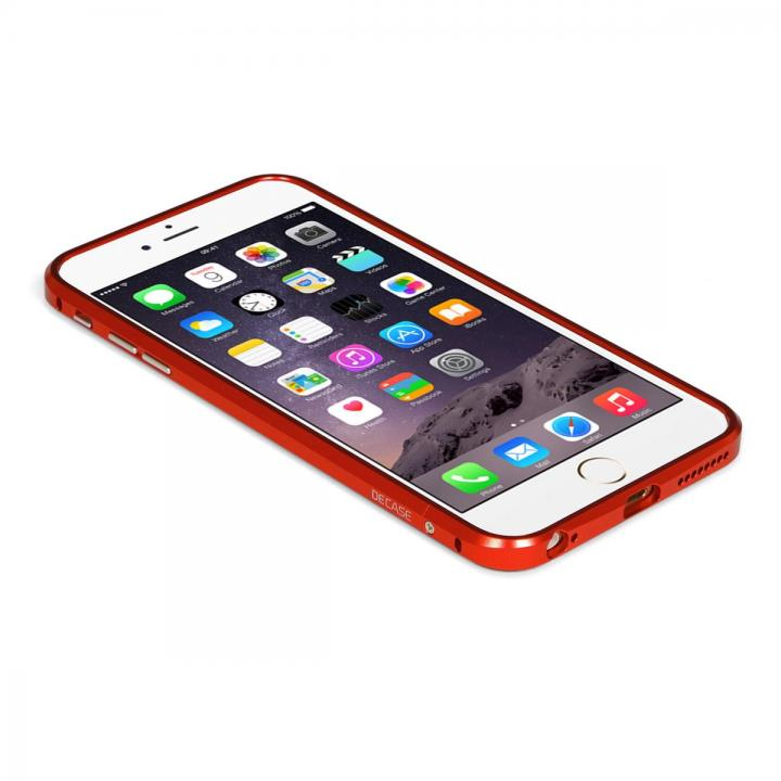 【iPhone6 Plusケース】アルミニウムバンパー DECASE レッド iPhone 6 Plus_0
