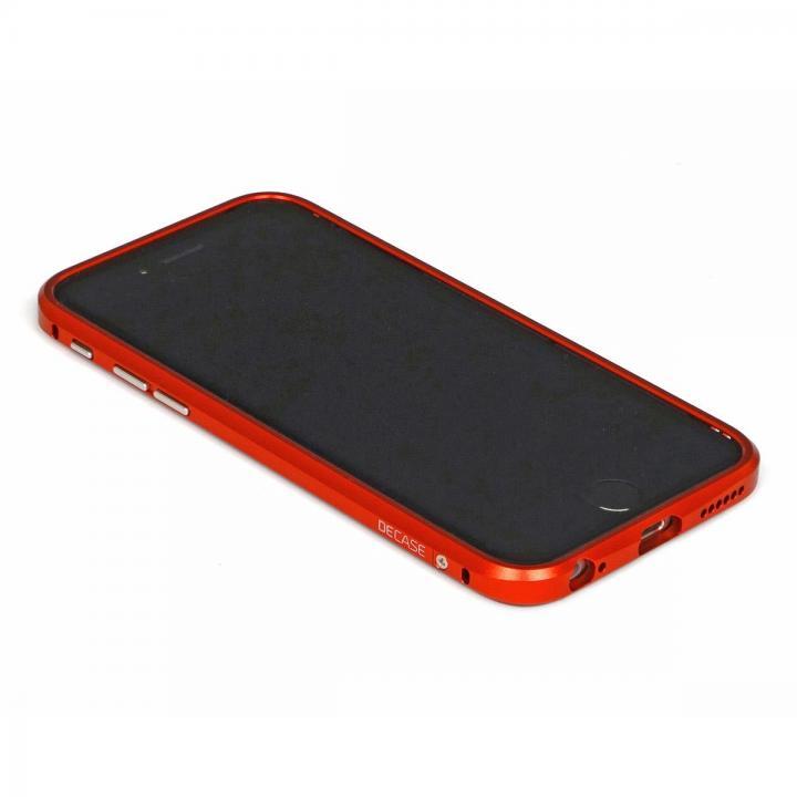 【iPhone6ケース】アルミニウムバンパー DECASE レッド iPhone 6_0