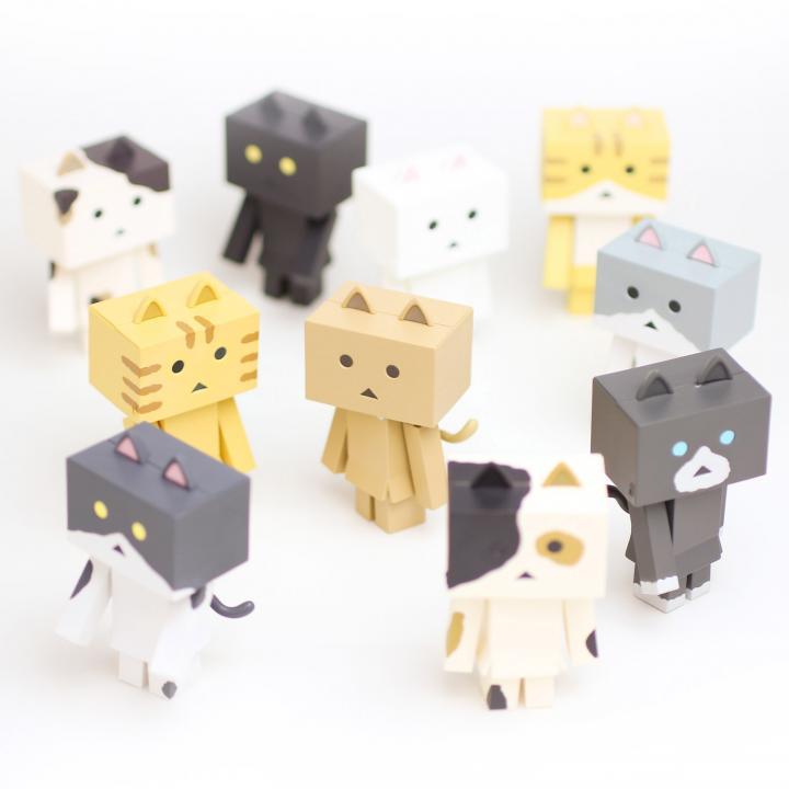 ニャンボー figure collection 10個セットBOX
