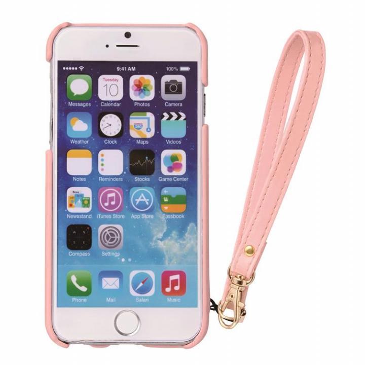 【iPhone6s/6ケース】ジュエリーストーン背面ケース iPhone 6s/6 ピンクハート_0