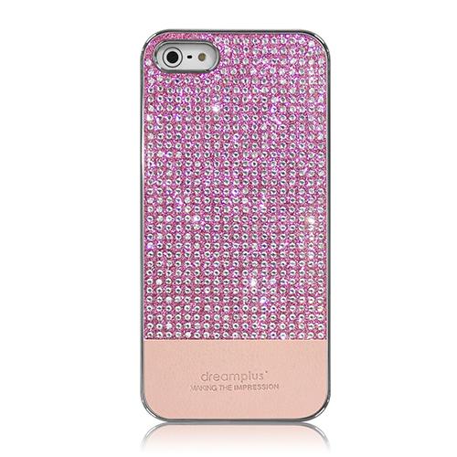 iPhone SE/5s/5 ケース Dreamplus ペルシャンネオ クリスタルストーンケース ピンク iPhone SE/5s/5_0
