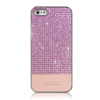 【iPhone5s ケース】Dreamplus ペルシャンネオ クリスタルストーンケース ピンク iPhone SE/5s/5