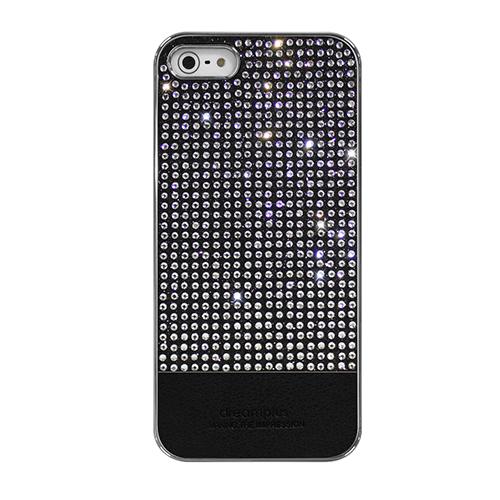 【iPhone SE/5s/5ケース】Dreamplus ペルシャンネオ クリスタルストーンケース ブラック iPhone SE/5s/5_0