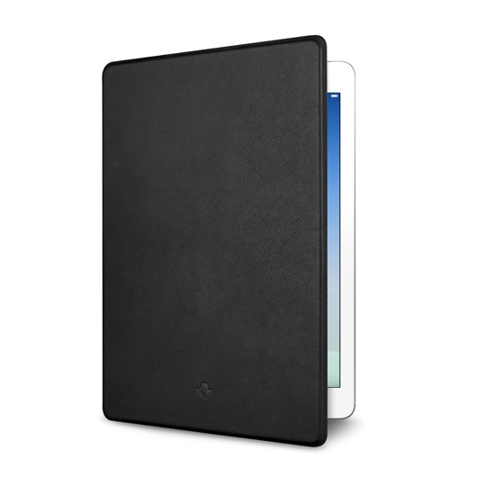 極薄レザーフリップカバー Twelve South SurfacePad ブラック iPad Airケース_0