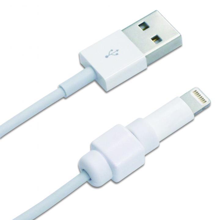 アイネックス CP-01WH Apple純正Lightningケーブルコネクタ保護キャップ_0