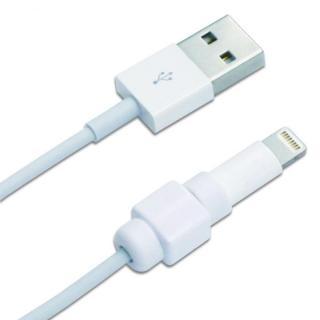 アイネックス CP-01WH Apple純正Lightningケーブルコネクタ保護キャップ