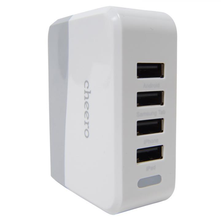 cheero 4USBポート充電20W ACアダプタ_0