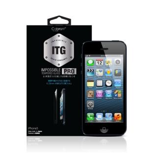 iPhone SE/その他の/iPod フィルム 【iPhone SE/5s/5c/5】ITG PRO Impossible Tempered Glass  iPhone 5