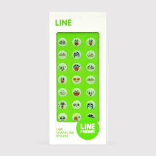 LINE エポキシシール ムーン