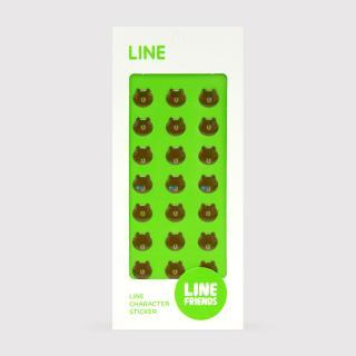 LINE エポキシシール ブラウン