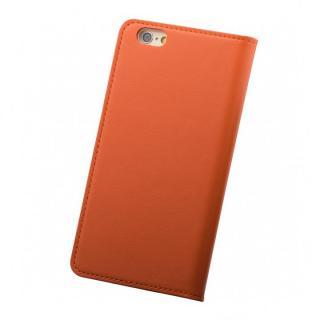 【iPhone6ケース】バンディエラ 手帳型本革ケース オレンジ iPhone 6_1