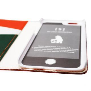 【iPhone6ケース】バンディエラ 手帳型本革ケース オレンジ iPhone 6_3