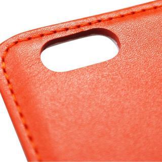 【iPhone6ケース】バンディエラ 手帳型本革ケース オレンジ iPhone 6_5