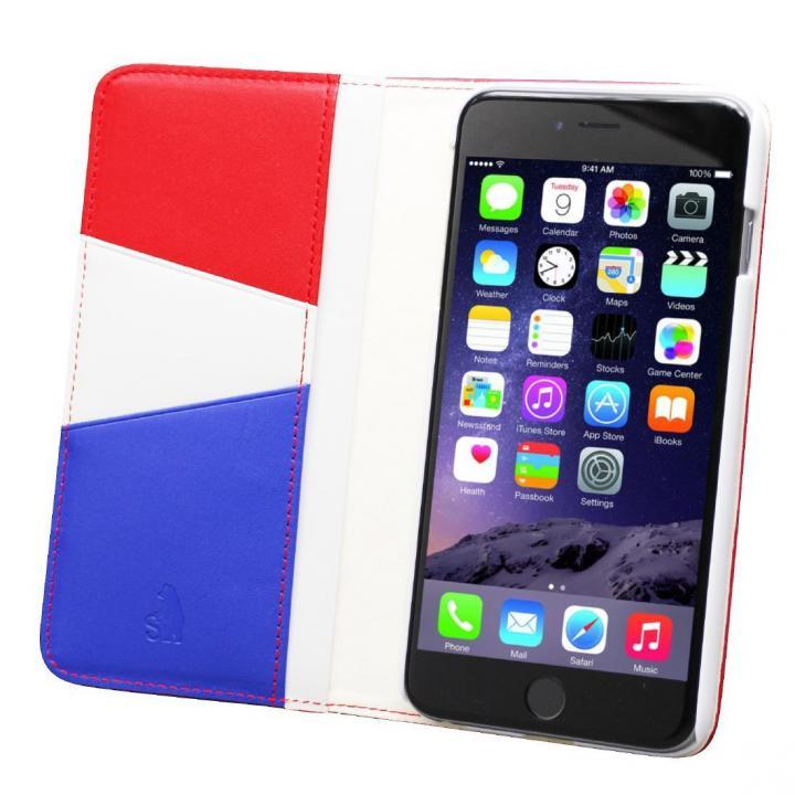 バンディエラ 手帳型本革ケース レッド iPhone 6s Plus/6 Plus