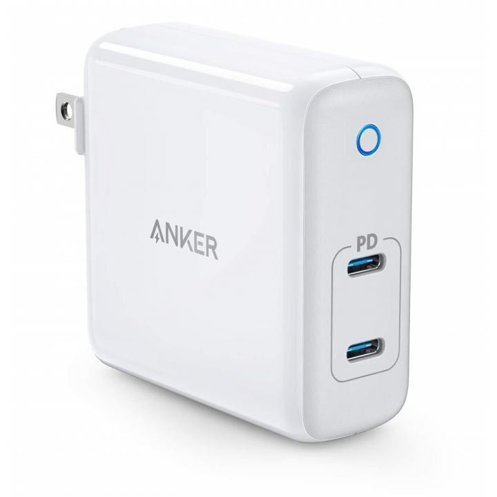 Anker PowerPort Atom PD 2 60W 2ポート USB-C 急速充電器 ホワイト_0