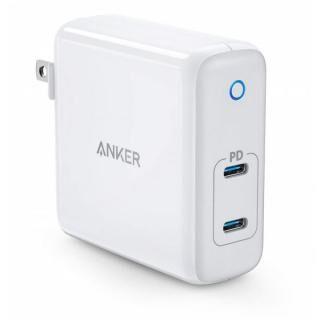 Anker PowerPort Atom PD 2 60W 2ポート USB-C 急速充電器 ホワイト【10月下旬】
