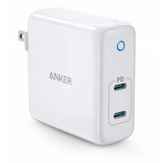 Anker PowerPort Atom PD 2 60W 2ポート USB-C 急速充電器 ホワイト【11月上旬】