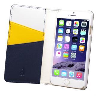 バンディエラ 手帳型本革ケース ネイビー iPhone 6