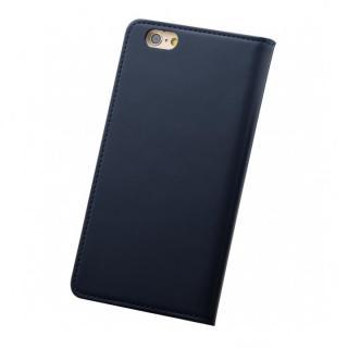 【iPhone6ケース】バンディエラ 手帳型本革ケース ネイビー iPhone 6_1
