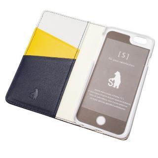 【iPhone6ケース】バンディエラ 手帳型本革ケース ネイビー iPhone 6_3