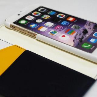 【iPhone6ケース】バンディエラ 手帳型本革ケース ネイビー iPhone 6_5