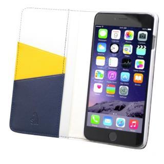 バンディエラ 手帳型本革ケース ネイビー iPhone 6s Plus/6 Plus
