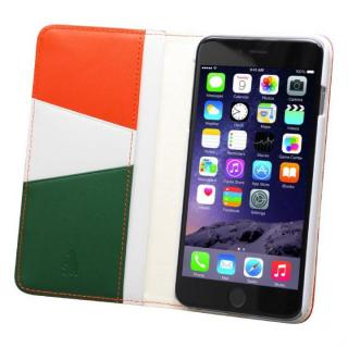 バンディエラ 手帳型本革ケース オレンジ iPhone 6s Plus/6 Plus