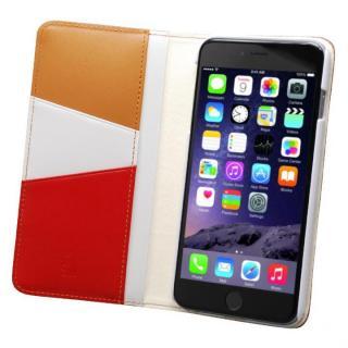 バンディエラ 手帳型本革ケース ベージュ iPhone 6s Plus/6 Plus