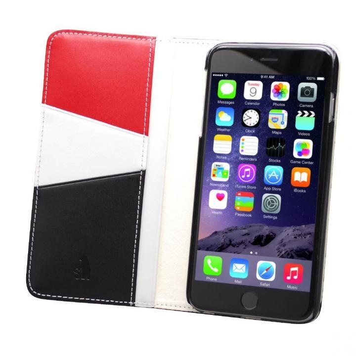 iPhone6s Plus/6 Plus ケース バンディエラ 手帳型本革ケース ブラック iPhone 6s Plus/6 Plus_0