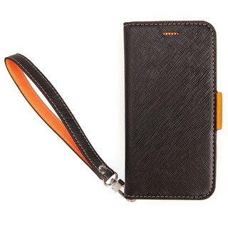 iPhone XS Max ケース Corallo NU ブラック/オレンジ iPhone XS Max