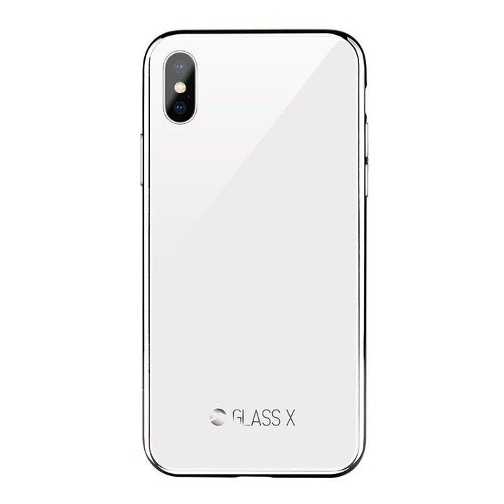 【iPhone XSケース】SwitchEasy GLASS X 2018 ホワイト iPhone XS_0
