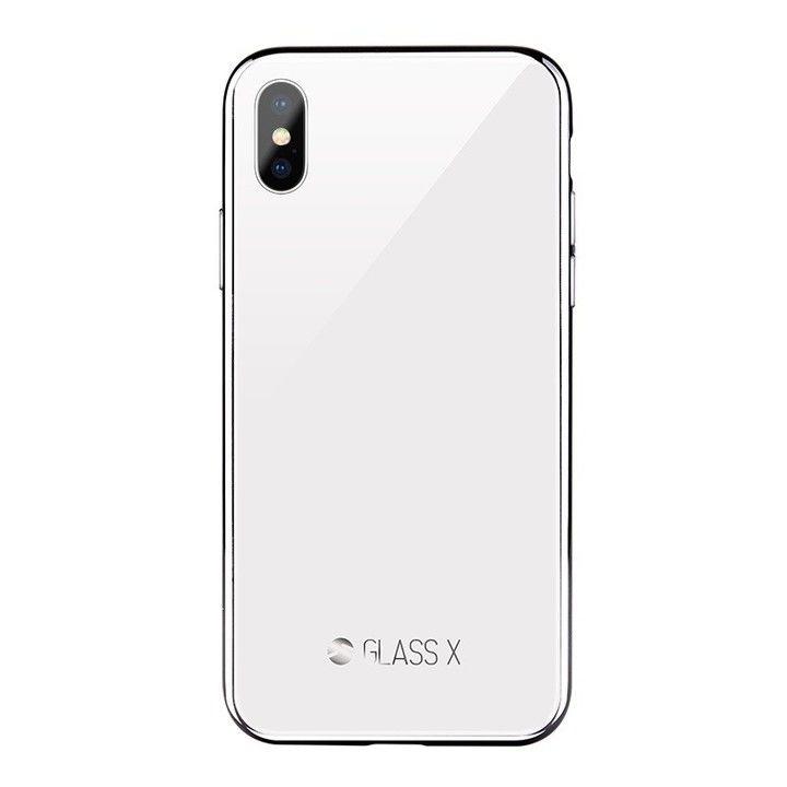 SwitchEasy GLASS X 2018 ホワイト iPhone XS