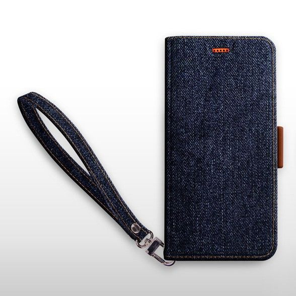 iPhone XS/X ケース Corallo NU JEANS インディゴ iPhone XS/X_0