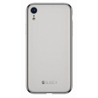 iPhone XR ケース SwitchEasy GLASS X 2018 ホワイト iPhone XR