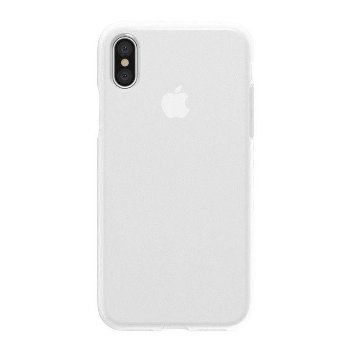 【iPhone XS/Xケース】SwitchEasy NUMBERS フロスト ホワイト iPhone XS/X_0