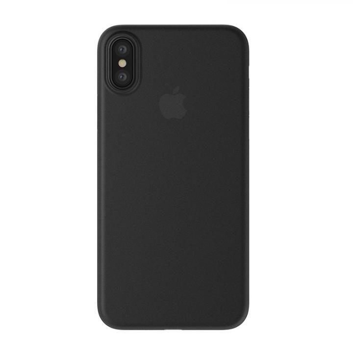iPhone XS/X ケース SwitchEasy 0.35 ウルトラ ブラック iPhone XS/X_0