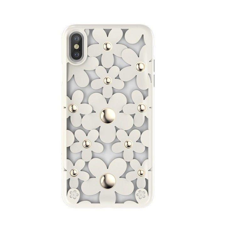 iPhone XS/X ケース SwitchEasy Fleur ホワイト iPhone XS/X_0
