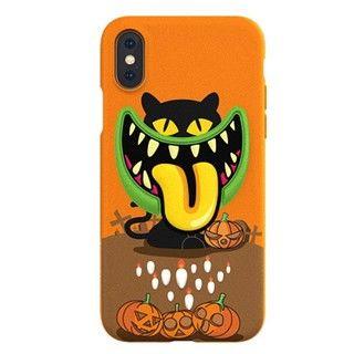 iPhone XS/X ケース SwitchEasy Monsters スプーキー iPhone XS/X