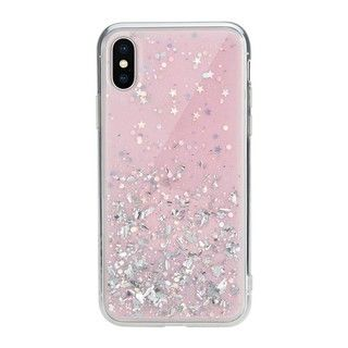 【iPhone XSケース】SwitchEasy StarField ピンク iPhone XS