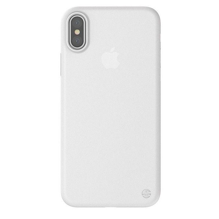 【iPhone XS Maxケース】SwitchEasy 0.35 フロスト ホワイト iPhone XS Max_0