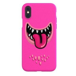 iPhone XS Max ケース SwitchEasy Monsters ピンク iPhone XS Max