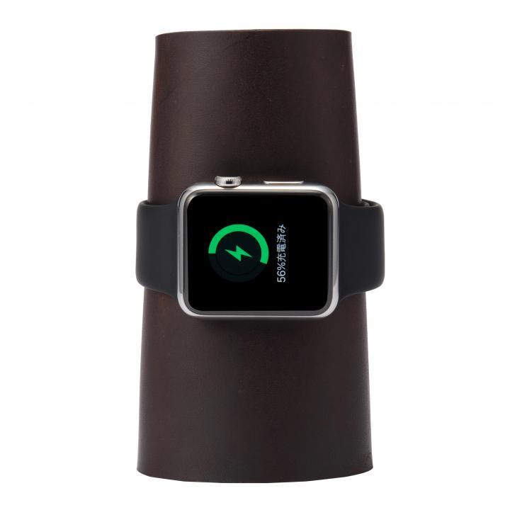 本革製のApple Watch用充電スタンド CARRY_0