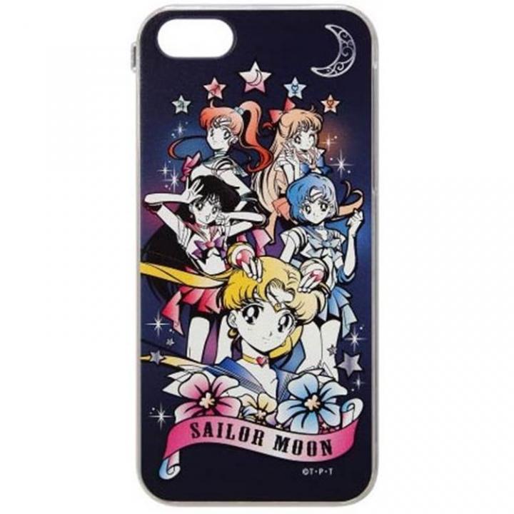 iPhone SE/5s/5 ケース 美少女戦士セーラームーン 集合(ゴシック柄) iPhone SE/5s/5ケース_0