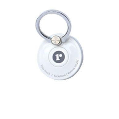 Core-Ring リングも円盤も回るデュアルダイヤル機能を採用した落下防止&スタンドリング ホワイト