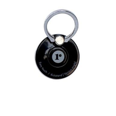 Core-Ring リングも円盤も回るデュアルダイヤル機能を採用した落下防止&スタンドリング ブラック【9月下旬】