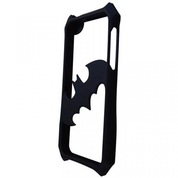 iPhone SE/5s/5 ケース バットマン iPhone SE/5s/5専用バンパー ブラック×ブラック_0