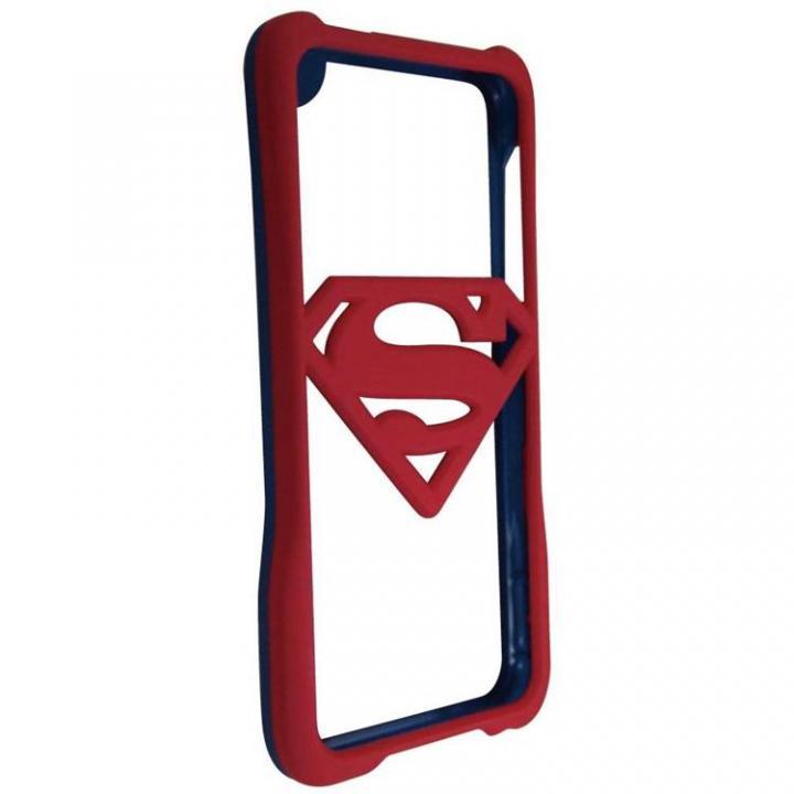 スーパーマン iPhone SE/5s/5専用バンパー ブルー×レッド