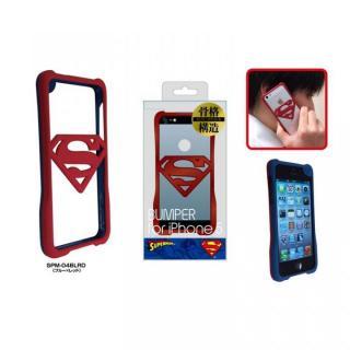 【iPhone SE/5s/5ケース】スーパーマン iPhone SE/5s/5専用バンパー ブルー×レッド_1