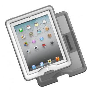 防水なのに液晶画面に直接触れる LifeProof nuud iPad(第2-4世代)ケース ホワイト